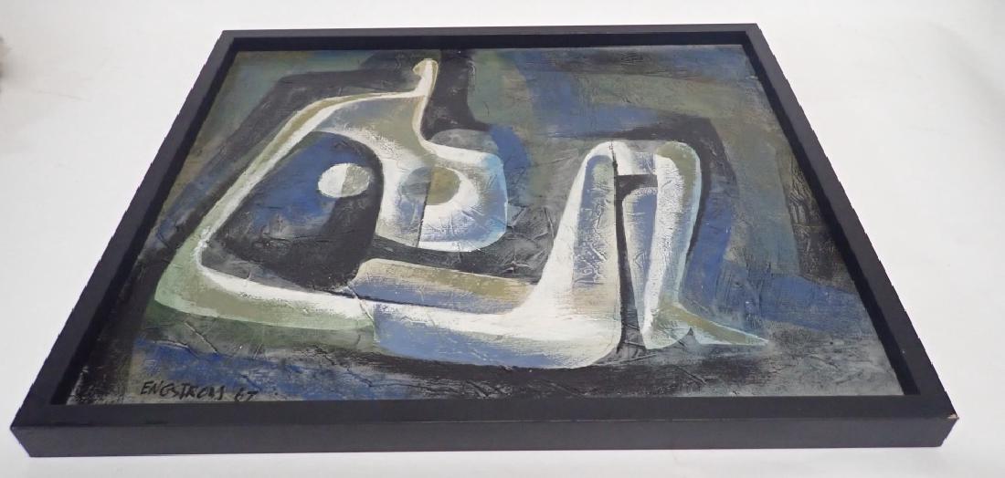 Martin Engstrom (born 1952) Modern O/C - 3