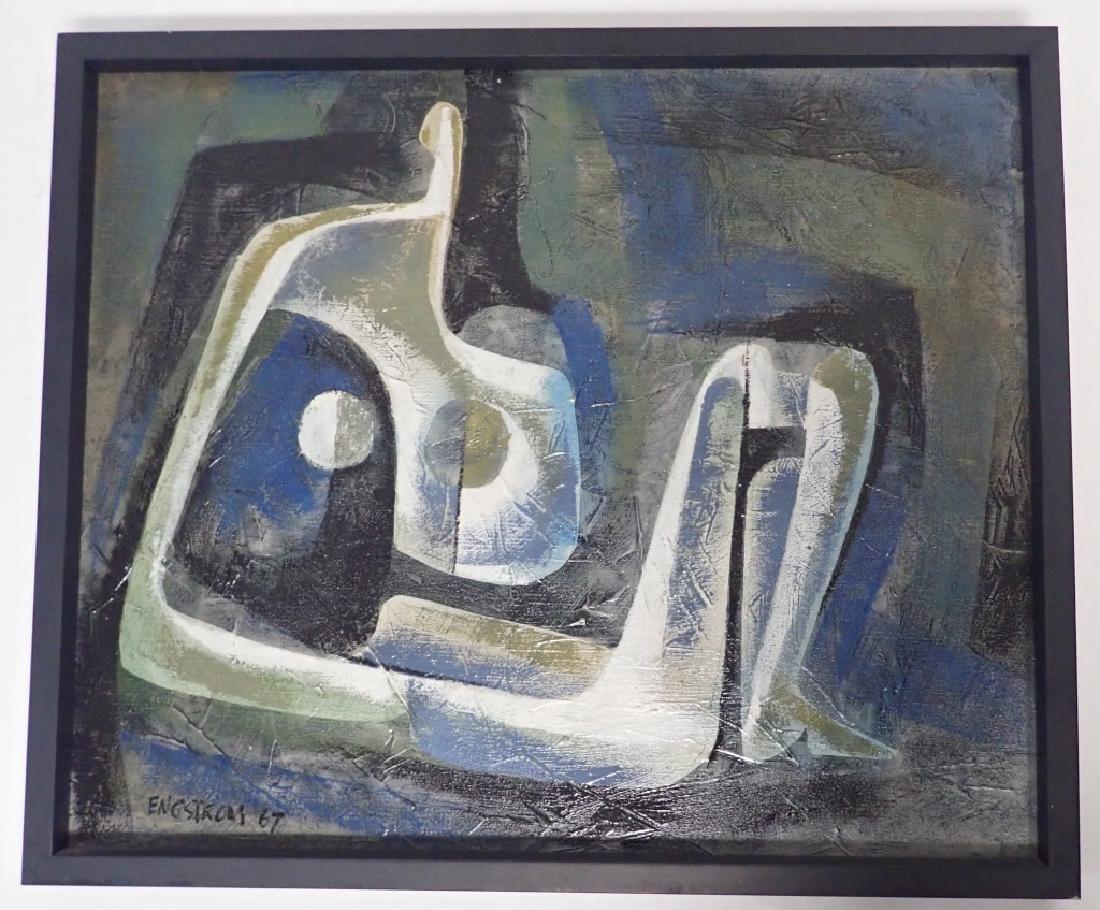 Martin Engstrom (born 1952) Modern O/C - 9