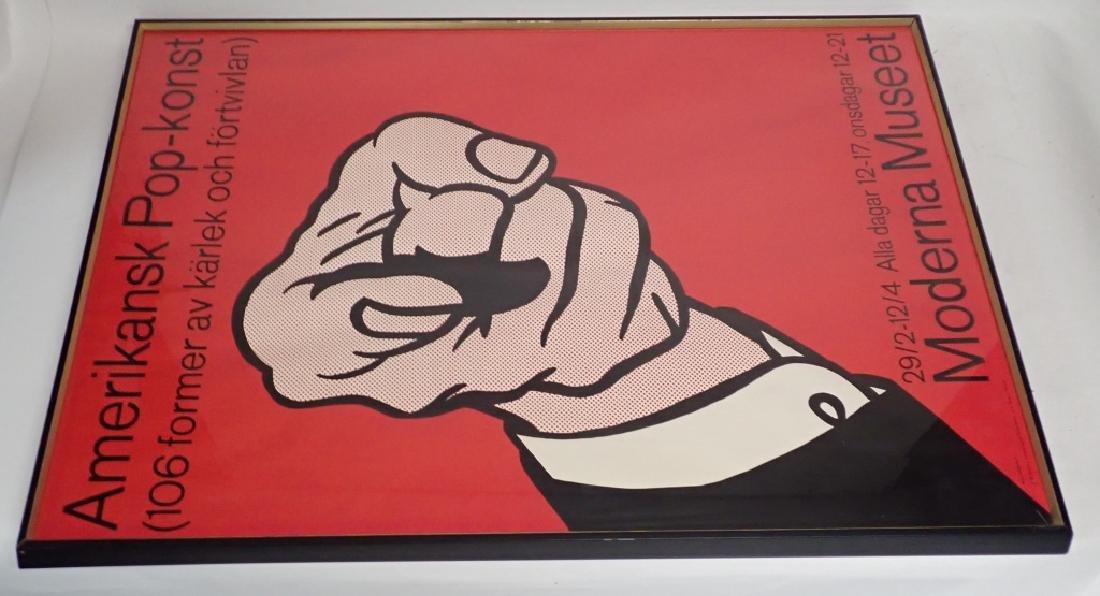 Lichtenstein Amerikansk Pop-Konst Serigraph - 3