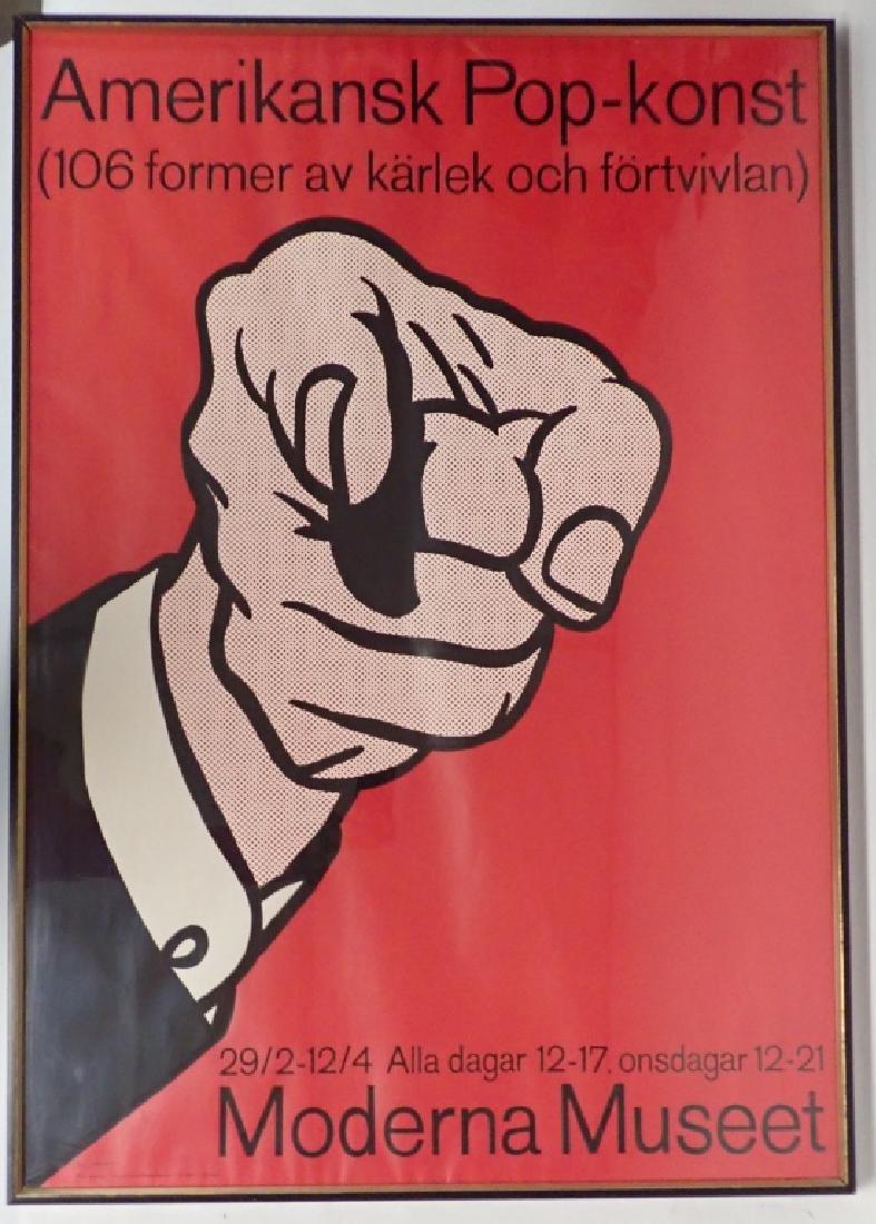 Lichtenstein Amerikansk Pop-Konst Serigraph - 6