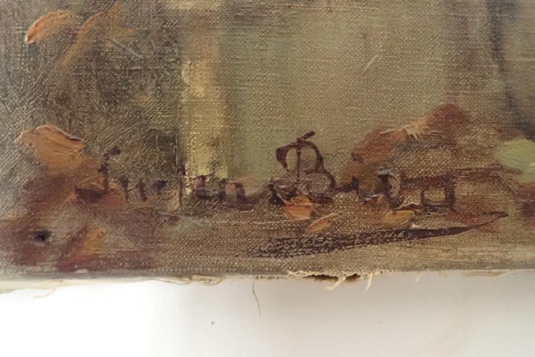 Lucien Biva (1879 - 1976) Oil on Canvas - 2