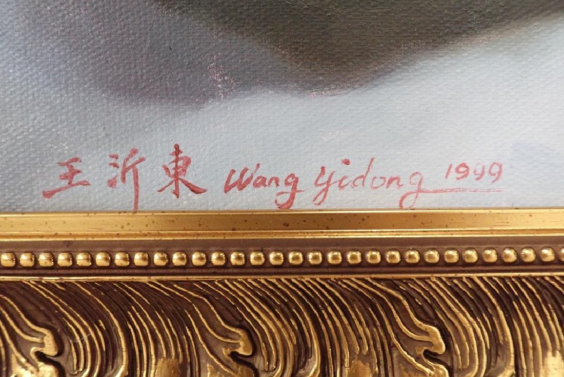 Yidong Wang (China) Large Oil Painting - 3