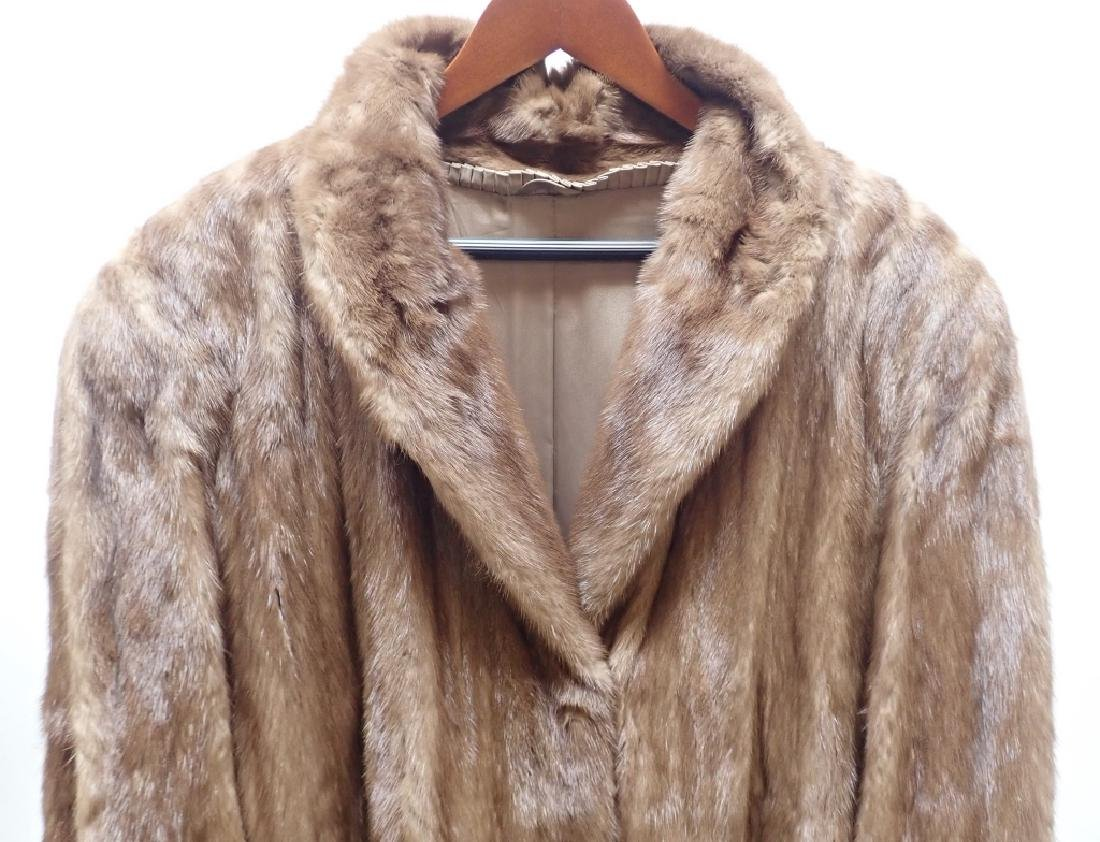 Vintage Woman's Long Fur Coat - 10