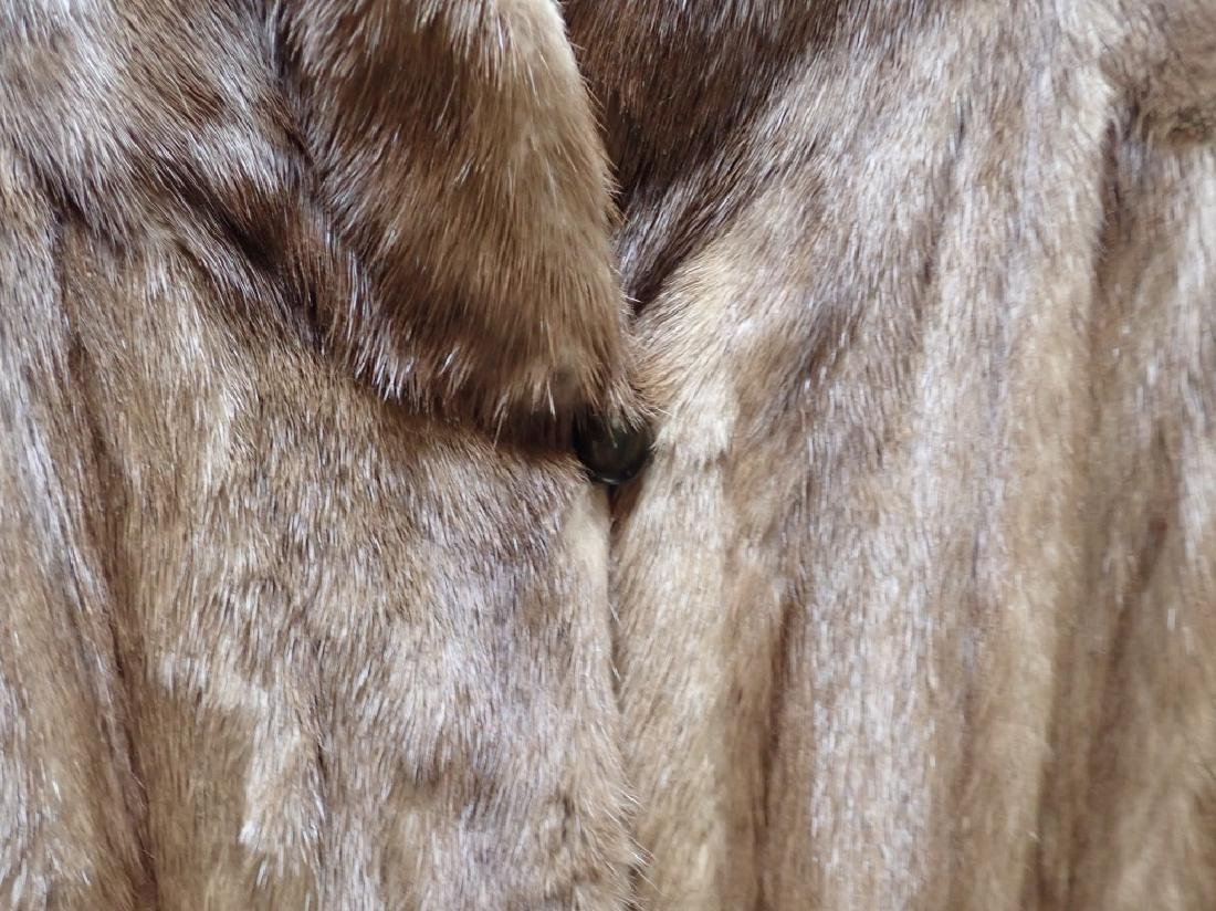 Vintage Woman's Long Fur Coat - 4