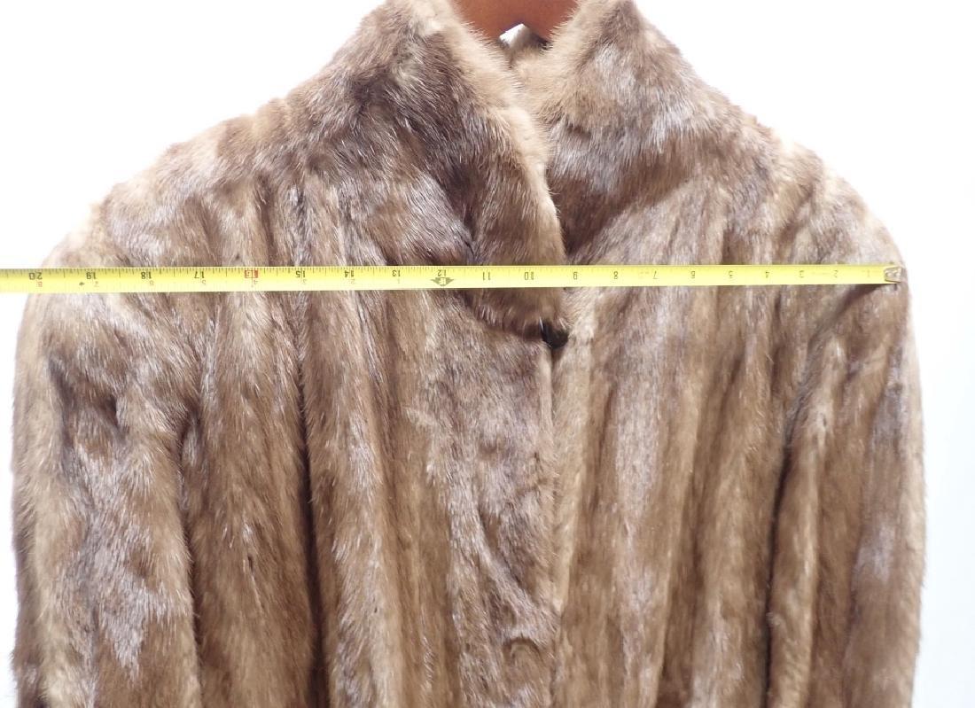 Vintage Woman's Long Fur Coat - 5