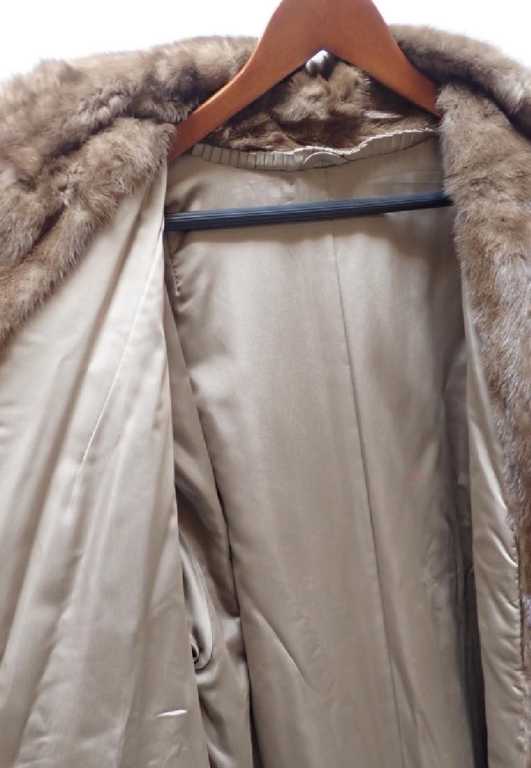 Vintage Woman's Long Fur Coat - 6