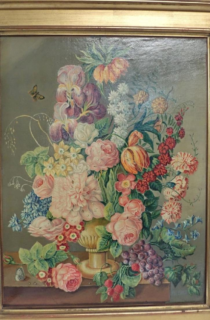 Floral Still Life Oil Painting - 2