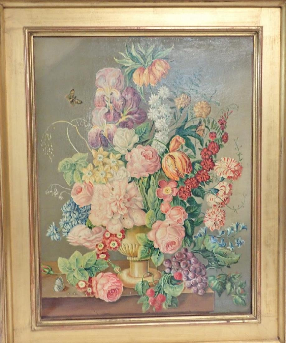 Floral Still Life Oil Painting - 3