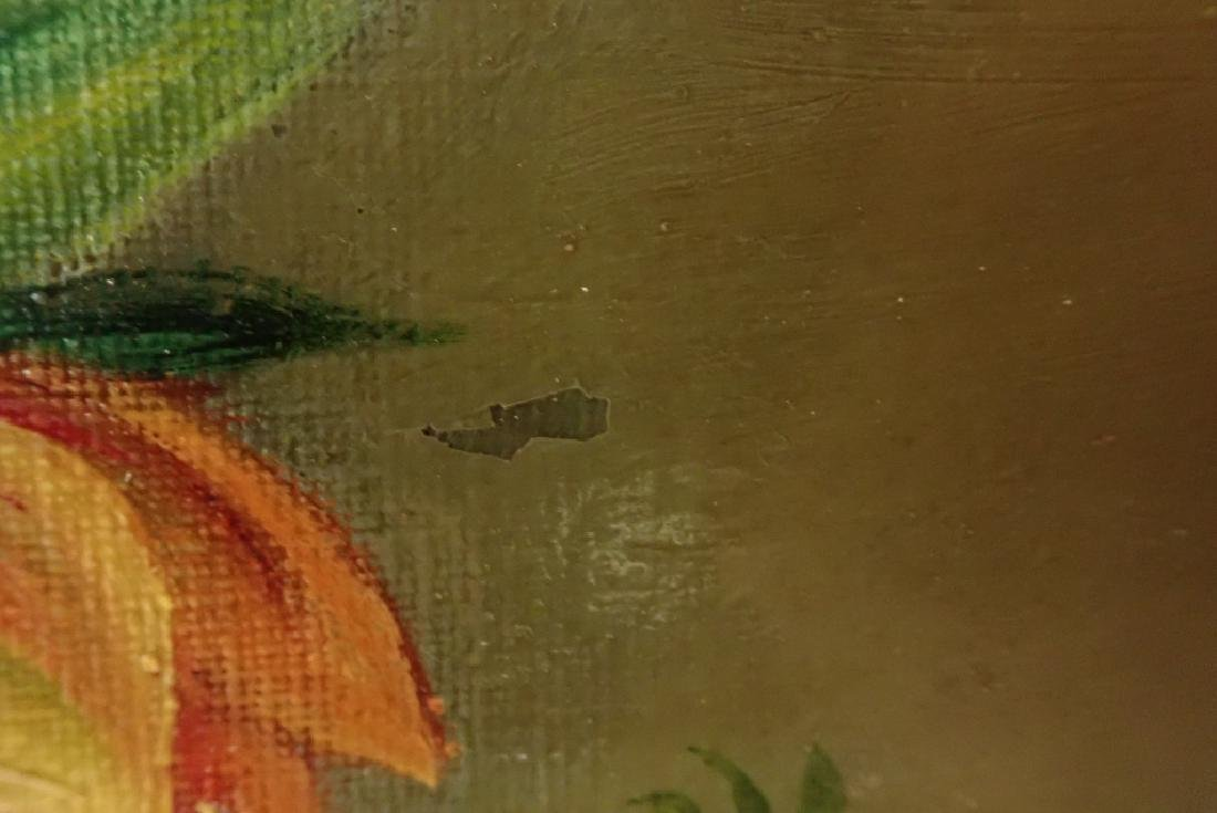 Floral Still Life Oil Painting - 8