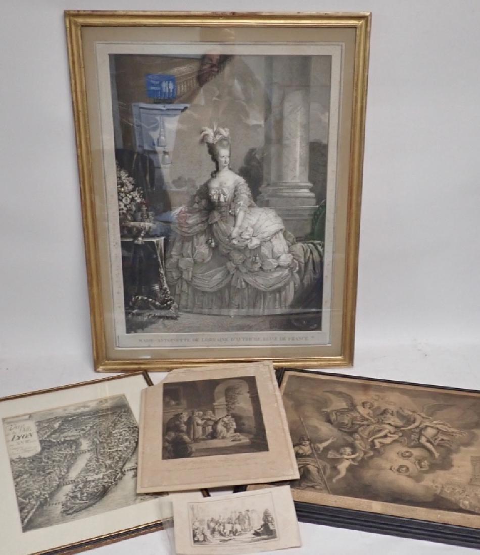 Collection Vintage & Antique Engravings & Prints