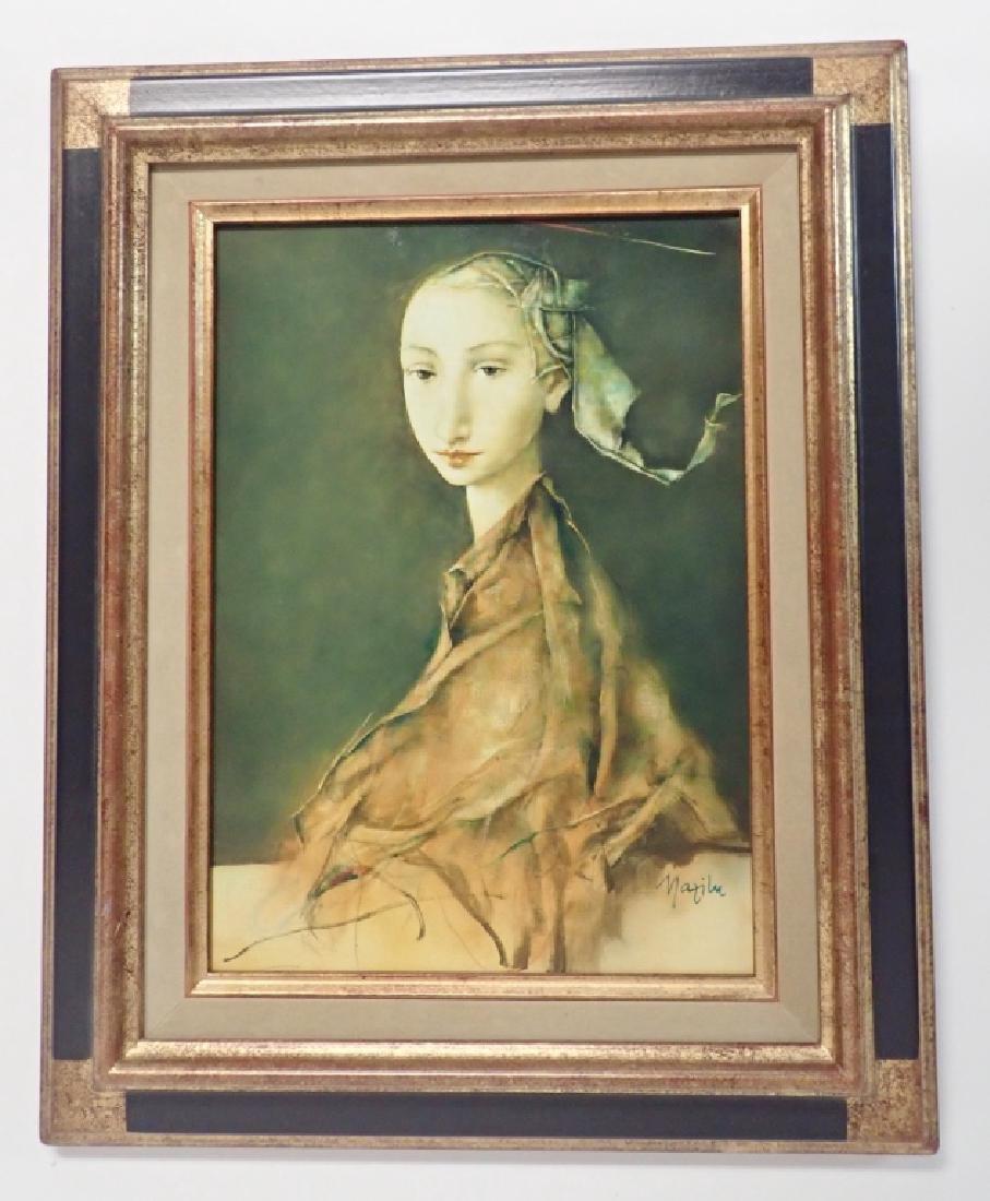 """Georges Mazilu """"Portrait de Femme"""" 1992 - 10"""