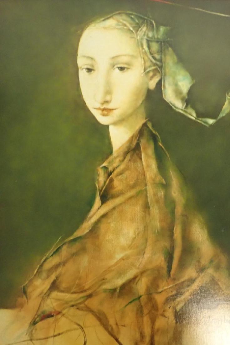 """Georges Mazilu """"Portrait de Femme"""" 1992 - 2"""