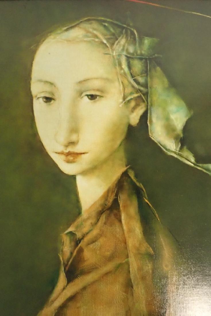 """Georges Mazilu """"Portrait de Femme"""" 1992 - 3"""