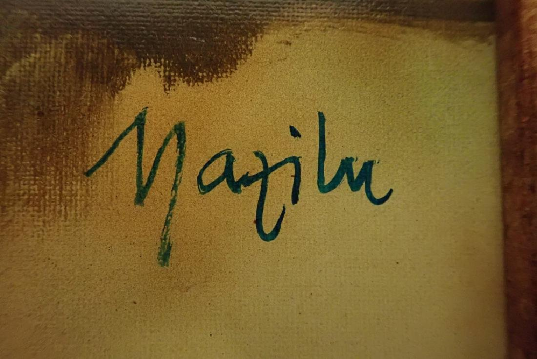 """Georges Mazilu """"Portrait de Femme"""" 1992 - 4"""