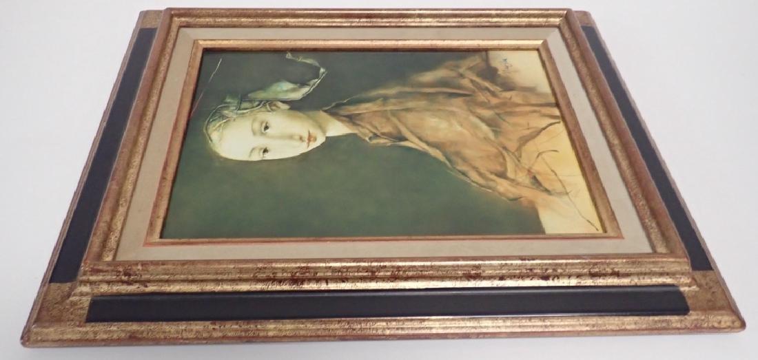 """Georges Mazilu """"Portrait de Femme"""" 1992 - 7"""