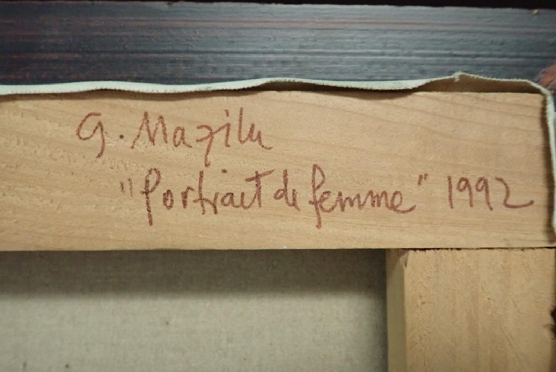 """Georges Mazilu """"Portrait de Femme"""" 1992 - 9"""