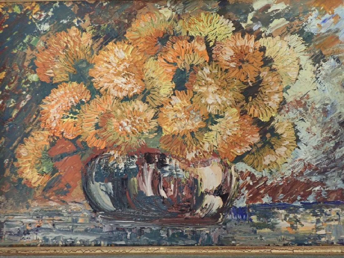 Gilt Framed Still Life Oil Painting on Board - 6