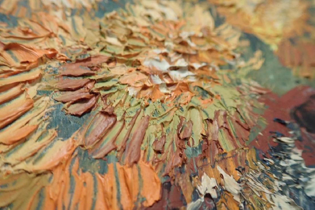 Gilt Framed Still Life Oil Painting on Board - 7