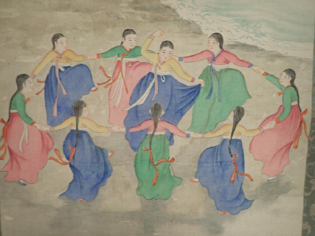 Two Asian Scroll Paintings - 4