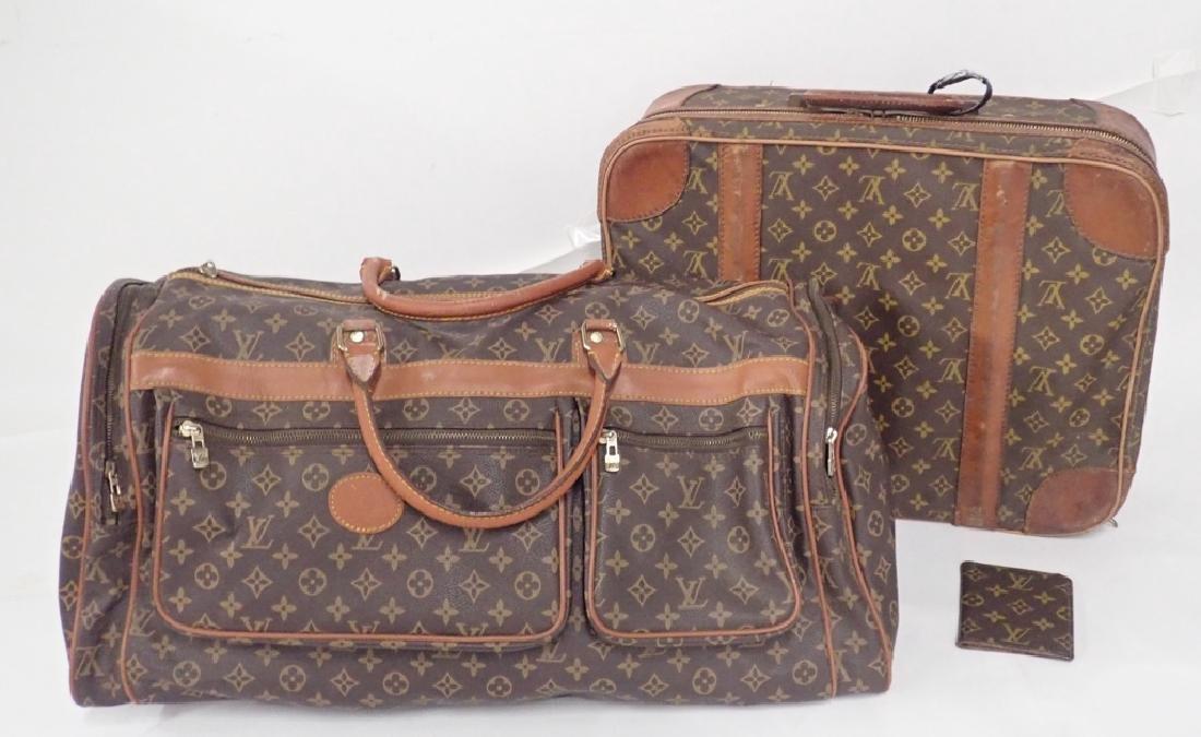 Vintage Louis Vuitton Luggage