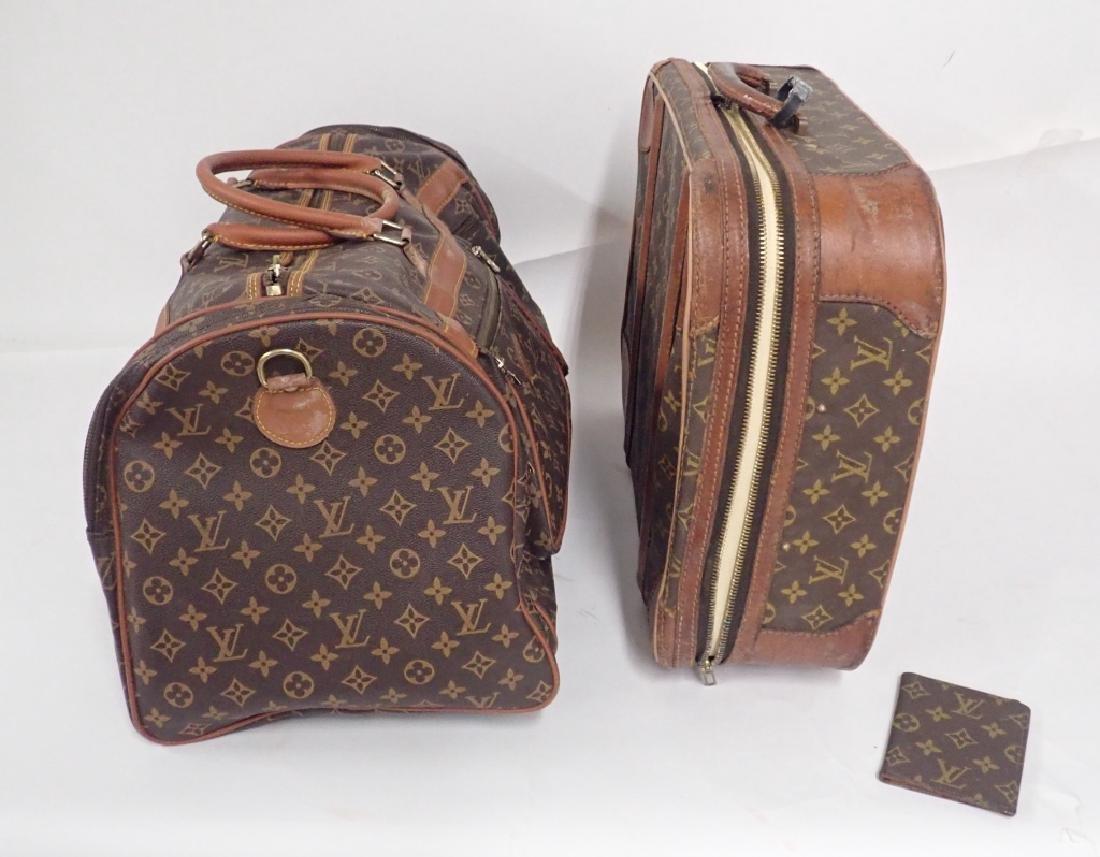 Vintage Louis Vuitton Luggage - 2