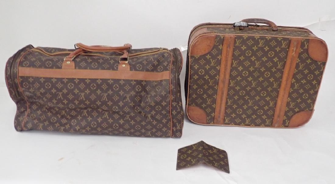 Vintage Louis Vuitton Luggage - 4