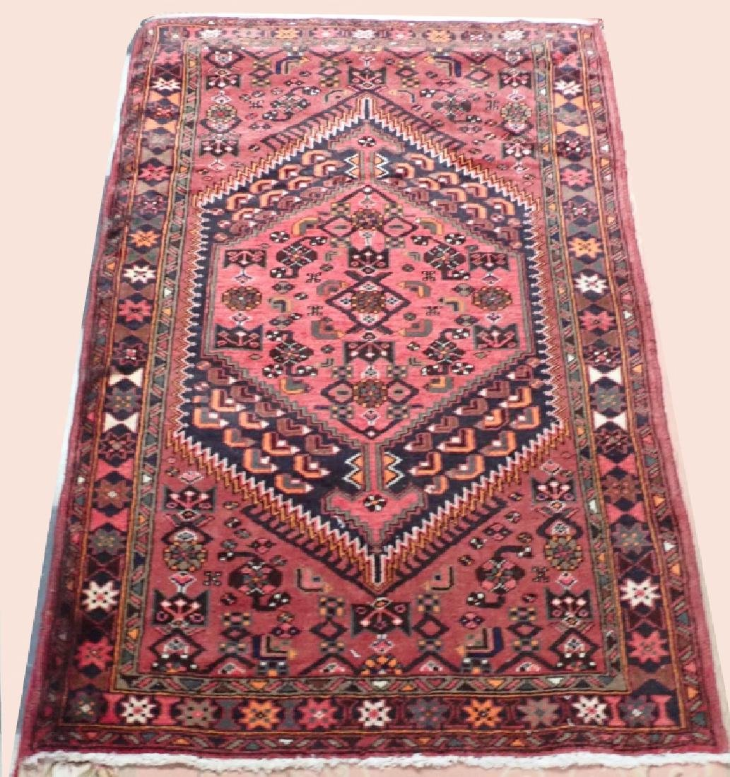 Vintage Hand Knotted Persian Carpet