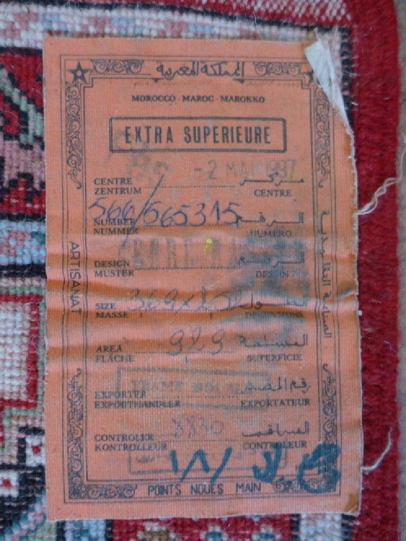Vintage Moroccan Rug - 7