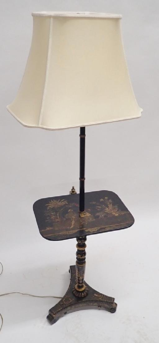 Floor Lamp with Table / Tray