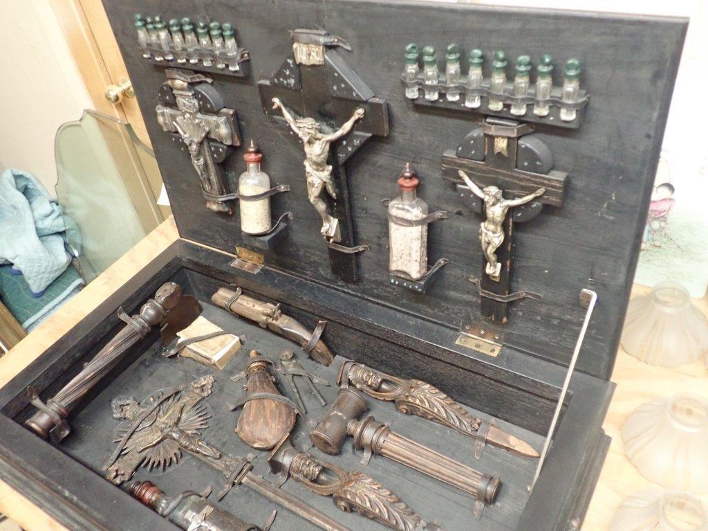 Vampire Hunting Kit in Hand Painted Box - 9