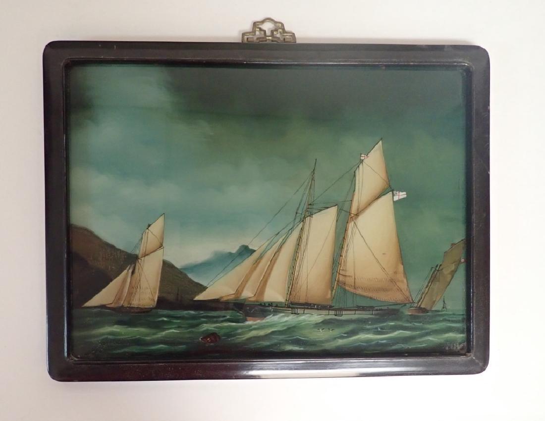 Framed Nautical Art Pairing - 2