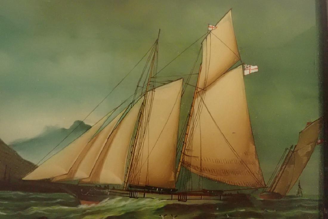 Framed Nautical Art Pairing - 3