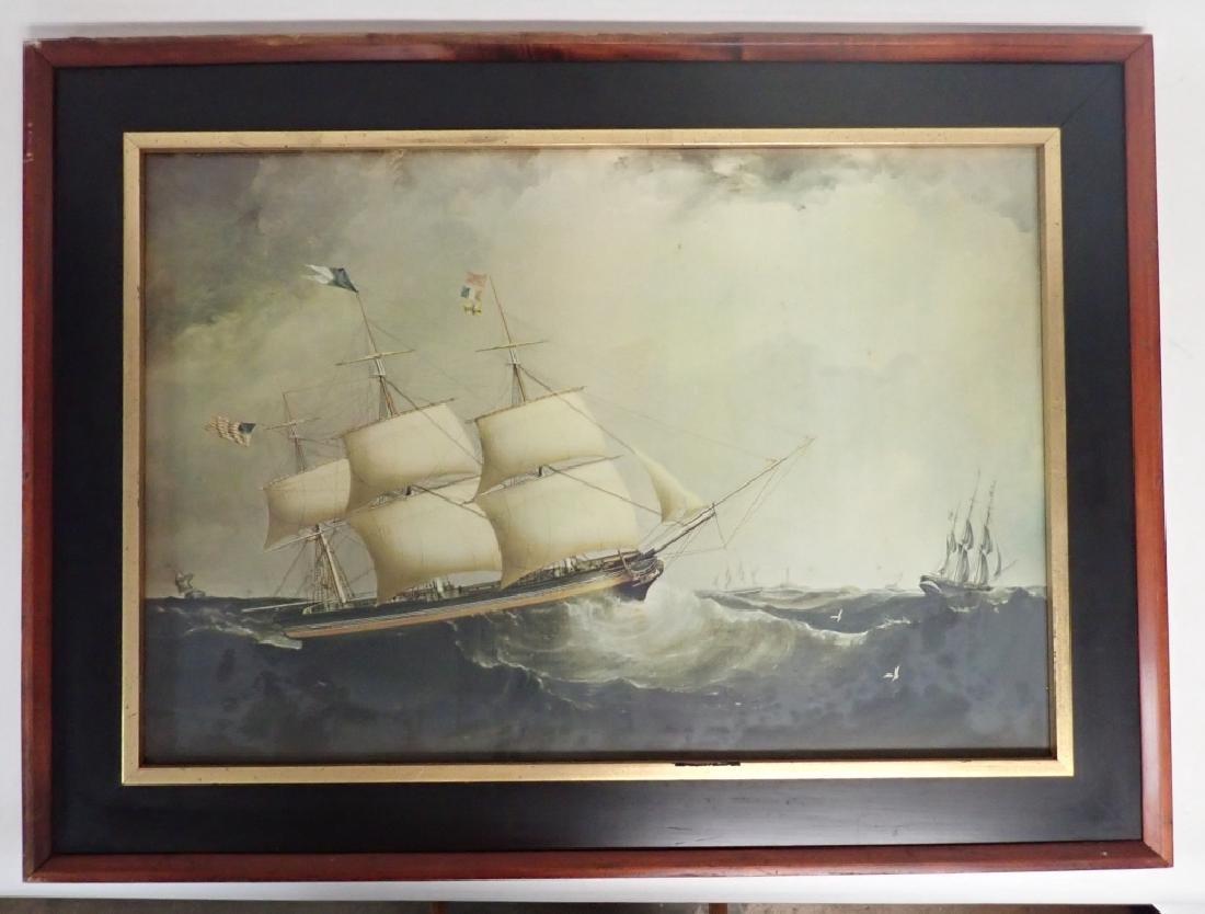 Framed Nautical Art Pairing - 5