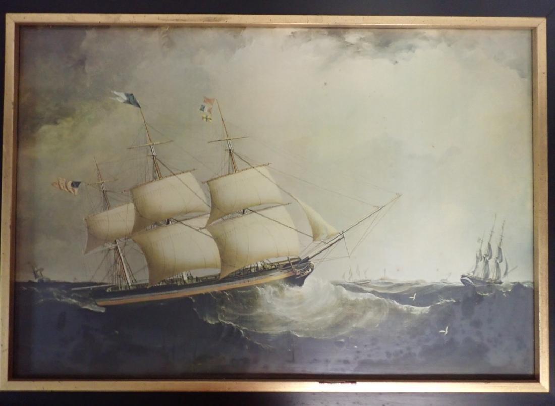 Framed Nautical Art Pairing - 6
