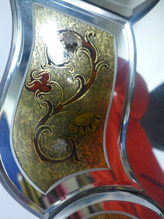 Hand Painted Venetian Glass Mirror - 3