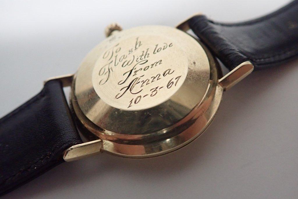 14-Karat Gold Omega Seamaster De Ville Wrist Watch - 2