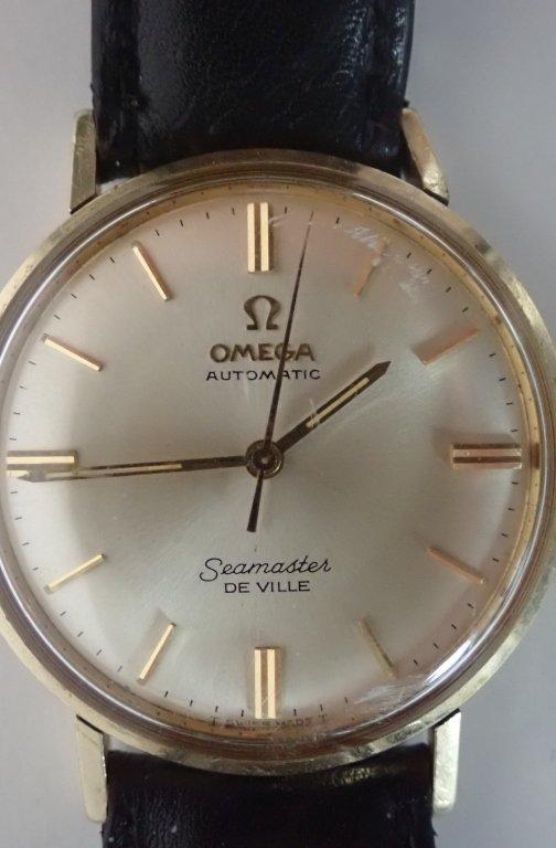 14-Karat Gold Omega Seamaster De Ville Wrist Watch - 3