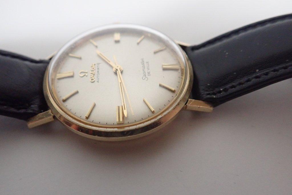 14-Karat Gold Omega Seamaster De Ville Wrist Watch - 4