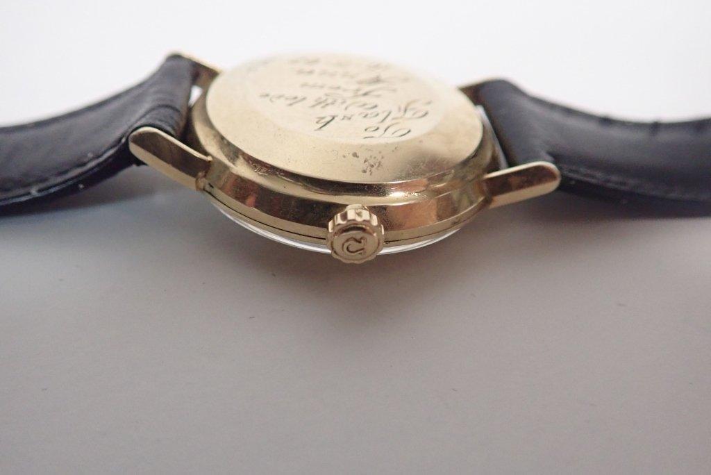 14-Karat Gold Omega Seamaster De Ville Wrist Watch - 7