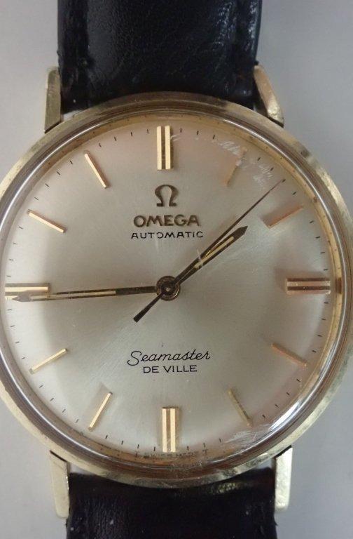 14-Karat Gold Omega Seamaster De Ville Wrist Watch - 8