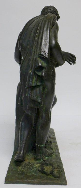 19th Century Bronze Figural Mantle Clock Case - 6