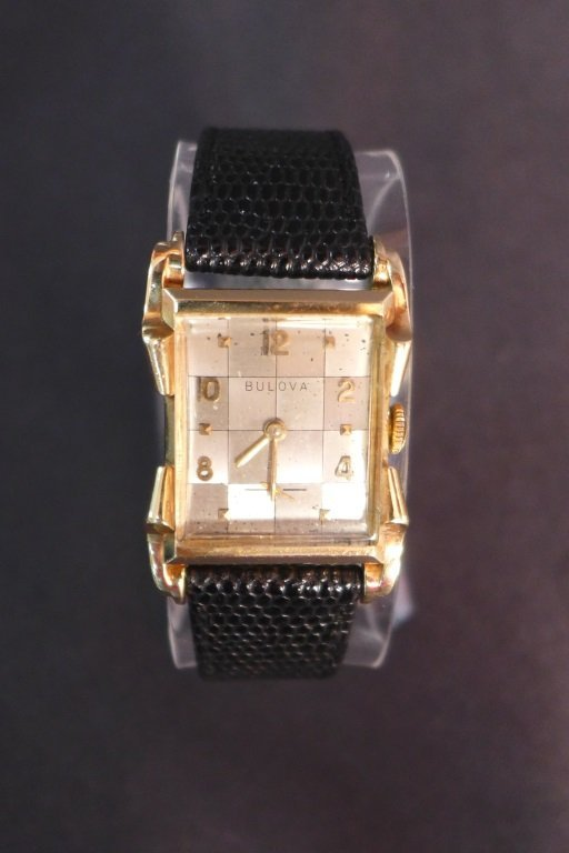 Bulova 14K Gold Men's Dress Watch