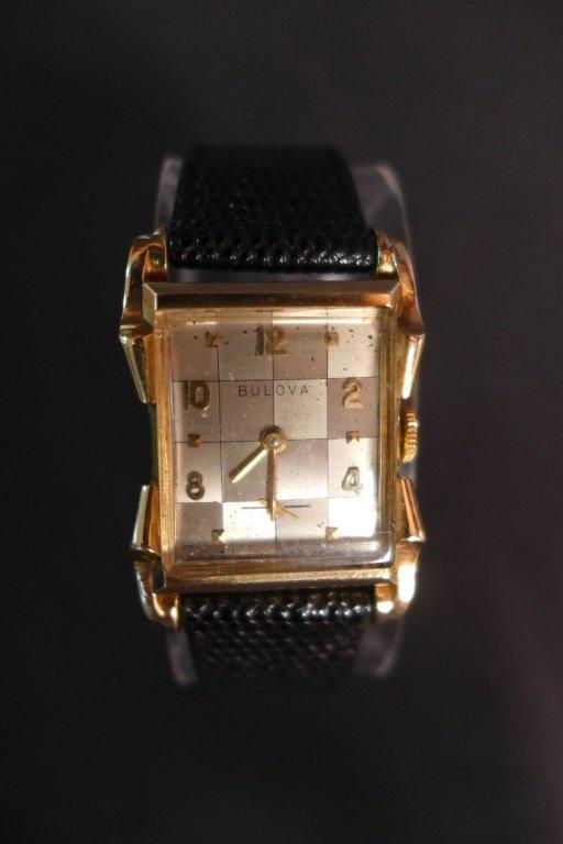 Bulova 14K Gold Men's Dress Watch - 3