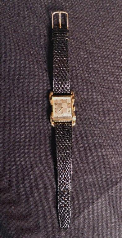 Bulova 14K Gold Men's Dress Watch - 6