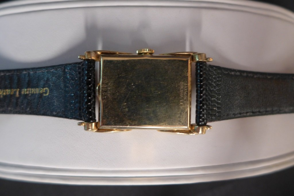 Bulova 14K Gold Men's Dress Watch - 8