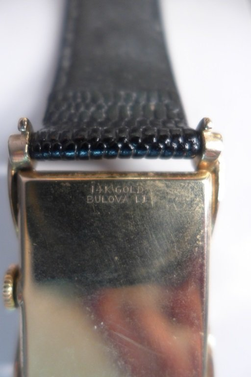Bulova 14K Gold Men's Dress Watch - 9