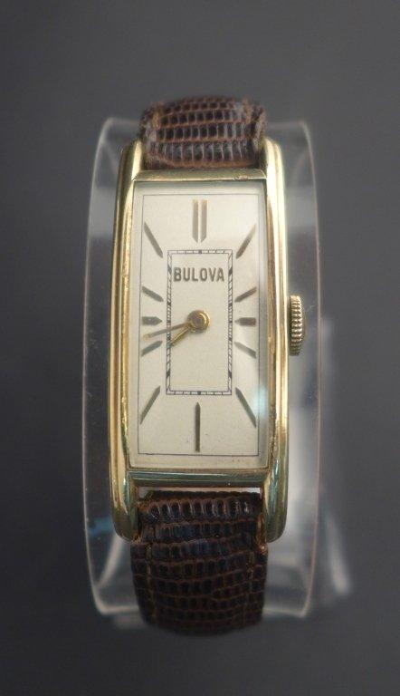 Bulova Rectangular Men's Watch