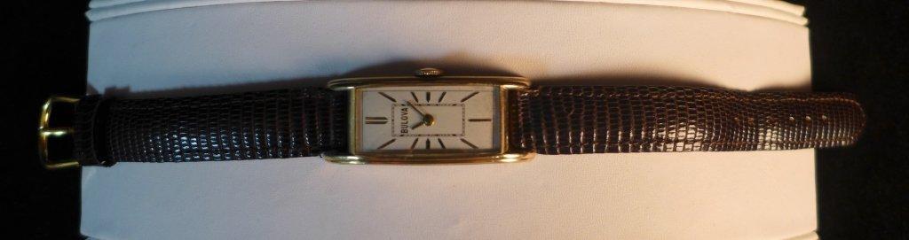 Bulova Rectangular Men's Watch - 4
