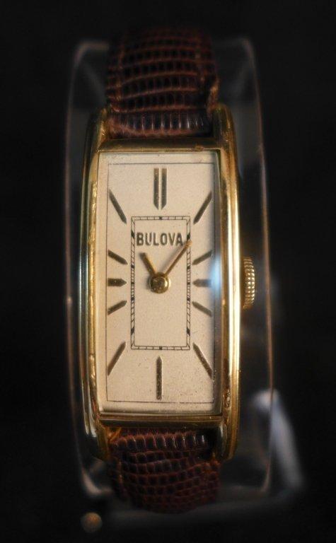 Bulova Rectangular Men's Watch - 9
