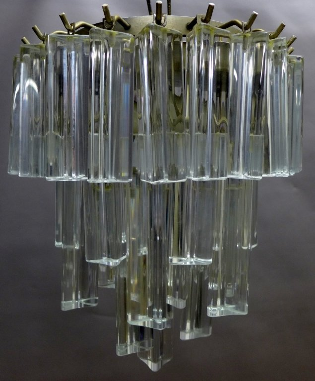 Vintage Italian Murano Glass Chandelier by Camer - 3